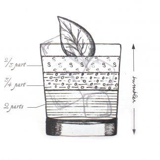 Celery Basil Smash von Joerg Meyer; Bild: Rutte Destillery