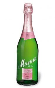 Mumm Rosé Dry; Bild: Godefroy H. von Mumm & Co. Sektkellereien GmbH