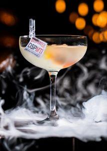 Dirty Sweet Potato Martini von Marcus Philipp; Bild: Pernod Ricard Deutschland