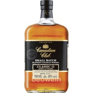 CANADIAN CLUB SMALL BATCH CLASSIC 12